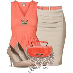 Dressy summer fashion