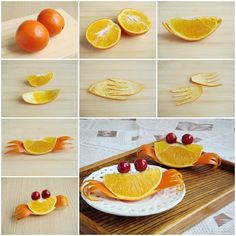 Are you looking for creative ways to decorate your food dishes so that they are not only delicious but also attractive? Here is a fun DIY project to cut an orange and make it look like a crab. Isn't that adorable? You should try it in your next party when …