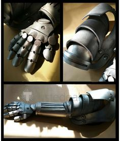 Fullmetal Alchemist Edward Elric Automail Arm Cosplay Props