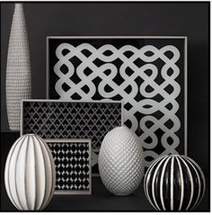 Black & White decor...