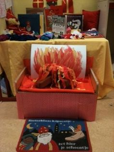 Lesideeën en uitwerking hoeken Sinterklaas in de kleuterklas en groep 3   Juf…