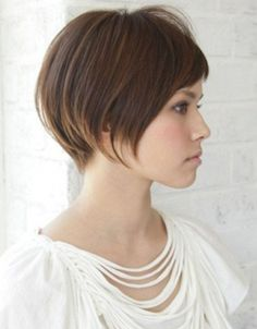 Short Hairstyle For Long Faces And Thin Hair Medium To