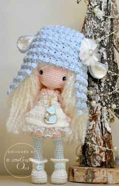 crochet doll – poupée au crochet