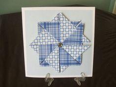 Tea bag folding cards