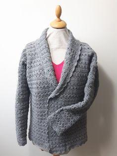 Hier keek ik al zo lang naar uit...een vest dat aan al mijn 'vest-eisen' voldoet!   En het is meer dan gelukt 'Wendy's Vest' is geboren   ...