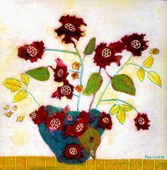 "Saatchi Art Artist Sandrine Pelissier; Painting, ""In Tombouctou"" #art"