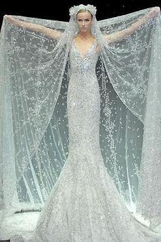 ice blue dress