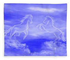 Spirit Horses Wood Print by Faye Anastasopoulou - Elwira Blount Wall Art Prints, Poster Prints, Canvas Prints, Horse Oil Painting, Fine Art Posters, Cloud Art, Thing 1, Horse Art, Art Oil