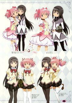 Mahou Shoujo Madoka Magica | Shaft / Kaname Madoka and Akemi Homura