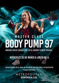 Master Class de Body Pump en Metropolitan Abascal.