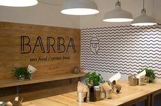 BARBA Restaurant on Branding Served