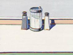 Wayne Thiebaud (b. 1920) Sugar, Salt and Pepper