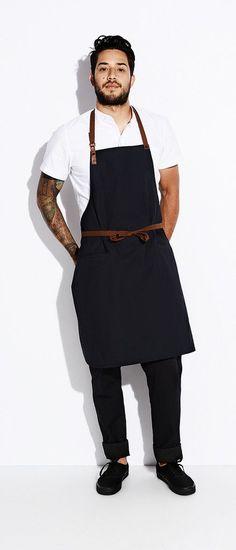 Image result for modern black apron