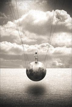 When your whole world is lost, grief hangs in the balance - will I sink today or rise above the madness?