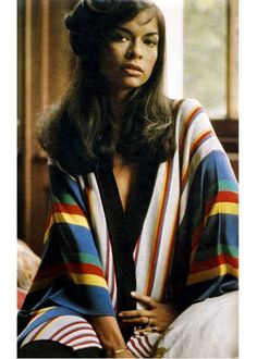 superseventies:  Bianca Jagger // caftan // super model // rock and roll muse // bohemian // fashion icon // style idol // iconic women // 1970s // 70s
