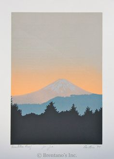 David Prentice (b. 1943) Mount Fuji in Summer, 1993