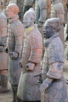 ... Terracot... Terracotta Army Qin Dynasty 210 Bc Art