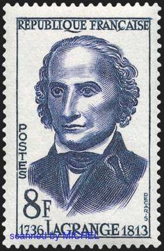 Frankreich 1958 Briefmarke Lagrange MiNr. 1182