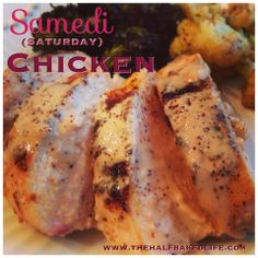 Samedi Chicken! Delish!!!  Recipe here:  https://www.facebook.com/photo.php?fbid=10203524015520942&set=a.1209514197928.32833.1230907378&type=1&theater