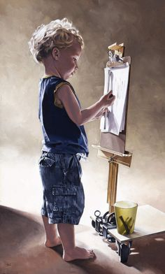 The Artist's Son, Bryan Larsen