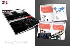 G4S company profile design concept