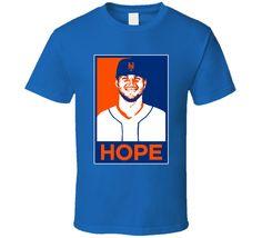 Tim Tebow New York NYM Baseball Hope Poster Parody Fan T Shirt