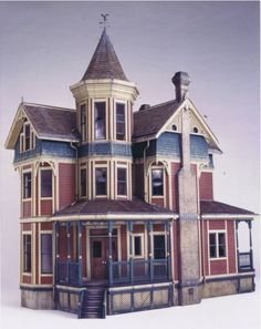 Josiah Golden Dollhouse by Clell Boyce.  This is the one I have...I need to finish it.