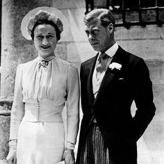 By the time Wallis first met the then Prince of Wales, she was married to her second husband, London-based shipping executive Ernest Simpson. The occasion was a hunting weekend, hosted by his mistress Lady Furness. Due to a bad cold, Wallis and the Prince hardly spoke, but there were other house parties and soon Wallis' wit won her a place in the Prince of Wales' heart.    On the death of his father George V, the Prince of Wales was crowned Edward VIII, but his reign was to last all of ten…