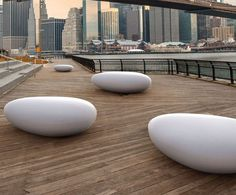 Metalco Stone Ultra High Performance Concrete seat