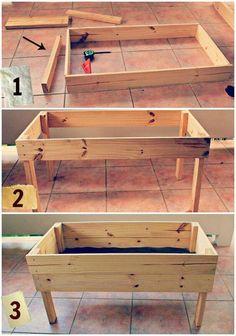 Corner of garden raised bedding idea raised garden bed plans | Raised or elevated garden beds Sharing Is Caring....