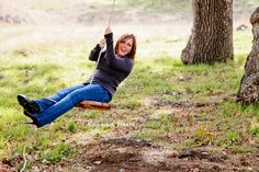 mom, family, love, laughter, fun, tree, swing, photography  www.KeyandHeartPhotography.com