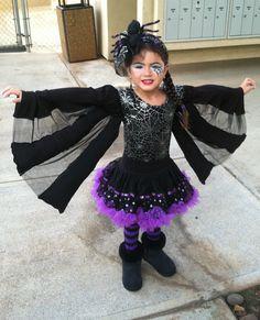 Spooky Spider - Homemade Costume