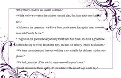 - Wedding Invitation Wording (No Children): How to and Samples! - EverAfterGuide