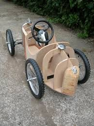 Image result for bugatti pedal car plans free
