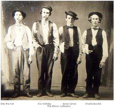 Billy the Kid y pandilla <3