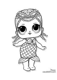 LOL Bebekleri Boyama Sayfaları - Çocuk Bilimi Angel Coloring Pages, Turtle Coloring Pages, Unicorn Coloring Pages, Truck Coloring Pages, Cat Coloring Page, Coloring Pages For Girls, Cartoon Coloring Pages, Disney Coloring Pages, Christmas Coloring Pages