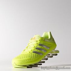 Men's Adidas Springblade Razor Running Shoes Fluorescein|only US$88.00