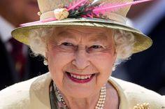 Queen Elizabeth arrives for the 2015 Derby at Epsom.