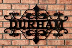 Metal Art Signs | ... .com/products/name-art-willow-flourish-personalized-name-sign.php
