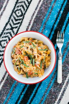 After a long day of hiking, try this super easy one pot pasta recipe once you're back at camp. This vegetarian meal is quick, filling, and easy to clean up!