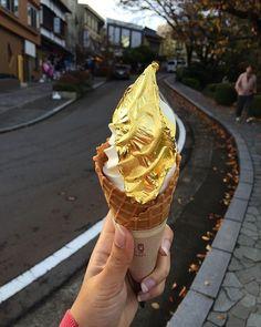 golden ice cream
