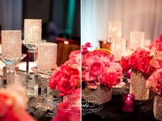 Out with the mason jars and rustic weddings, in with the glamour and formality