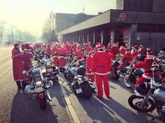 It was a Santa Claus take over in Lugano today! I have such a fun time with my Harley family in Switzerland today. I special thanks to @wheelsandlenses for inviting me to this special event. I can't wait to check out the epic @gopro from the day!!  #harleydavidson #Christmas #santaclaus #cheer #harleydavidson #family #parade #lugano #Switzerland #Europe #travel #adventure #explore #bikelife #livetoride #ridetolive