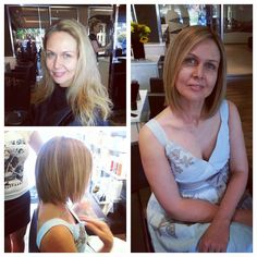 a makeover done by Chantal v. Salon Pictures, Salons, Shoulder, Hair, Women, Fashion, Moda, Lounges, Fashion Styles