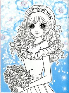 Korean Coloring Book - pink - Mama Mia - Picasa Web Albums