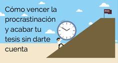 La procrastinación es el mal de muchos científicos. Aprende a vencerla en este post y acaba tu tesis doctoral o artículo científico de una vez por todas.