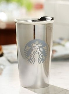 Starbucks Limited Edition Ceramic Tumbler - White Gold, 12 fl oz