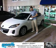 https://flic.kr/p/AEzDuS | #HappyBirthday to Carlos from Nick Searcy at Mazda of Mesquite! | deliverymaxx.com/DealerReviews.aspx?DealerCode=B979