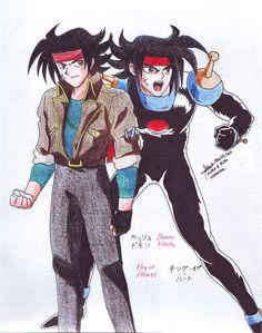 Domon Kasshu 1 by hirokada