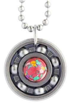Got a b-day coming up? Celebrate with fun...funfetti that is! Our funfetti stone is multi-coloured with cartoon inspired looks that bring epic joy! #derbygirldesigns #bearingjewelry #jewelrythatrocks #funfetti #happybday #letscelebrate